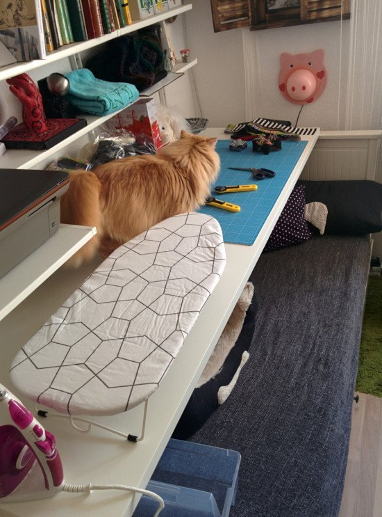 Temporary Sewing Table