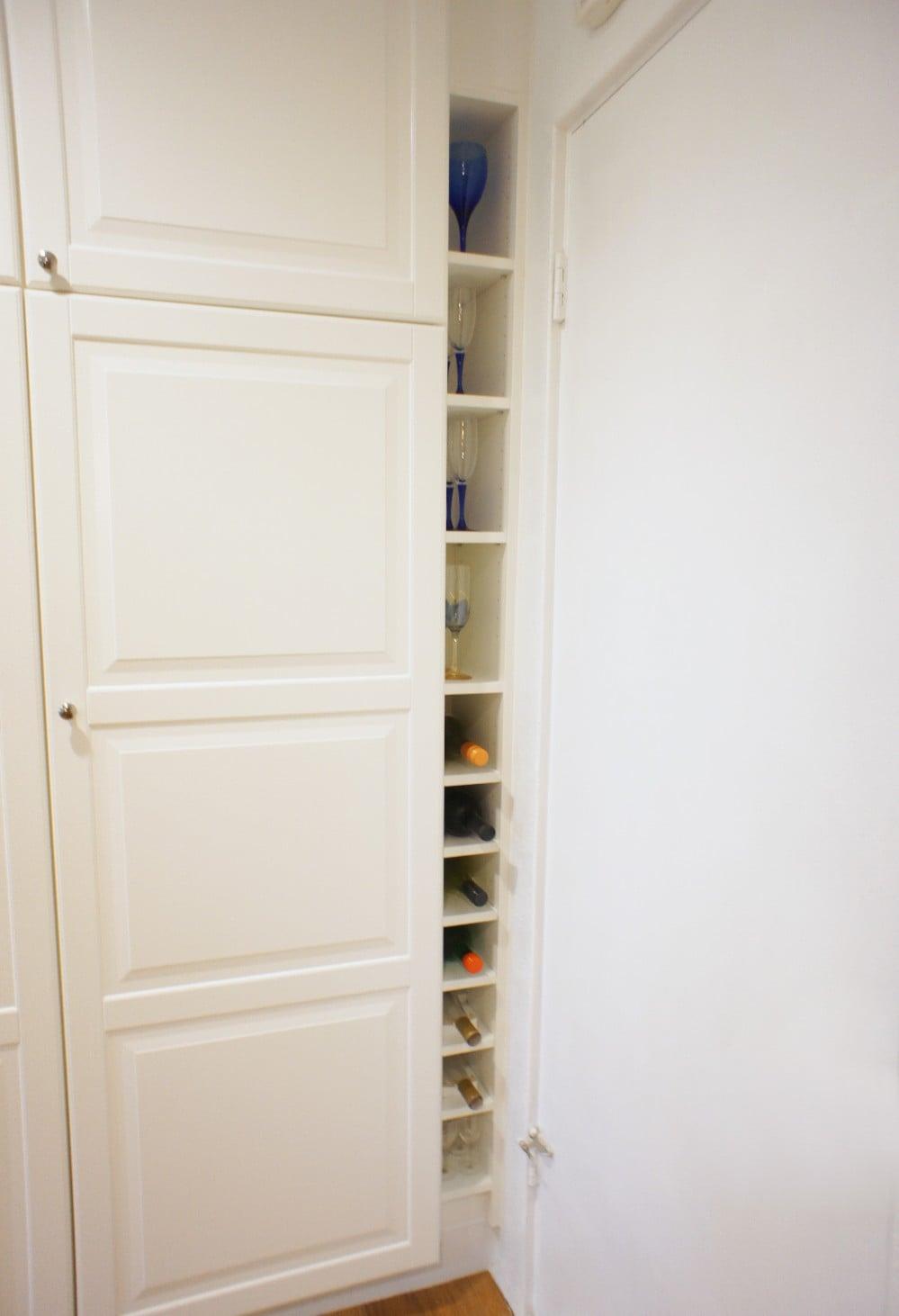 Ikea Billy Bookcase To Slim Wine Rack Ikea Hackers