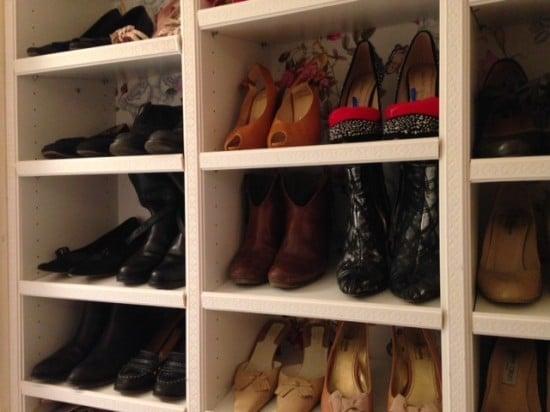 BILLY shoe closet ideas