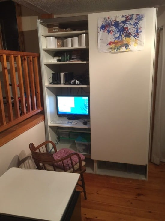 Akurum Kitchen cabinets and Pax sliding doors