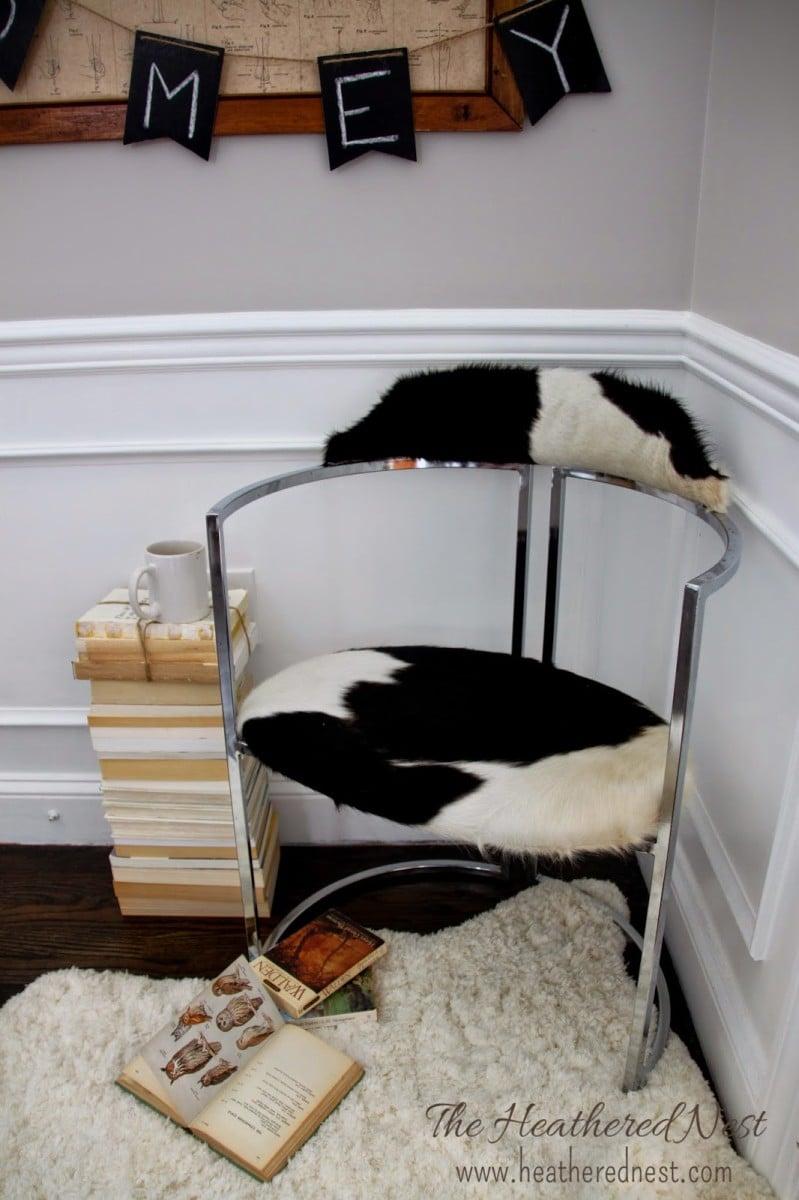 KOLDBY Cowhide Rug IKEA Hack