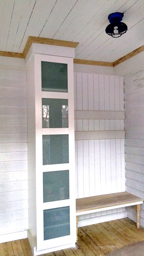 Superior Mudroom Storage