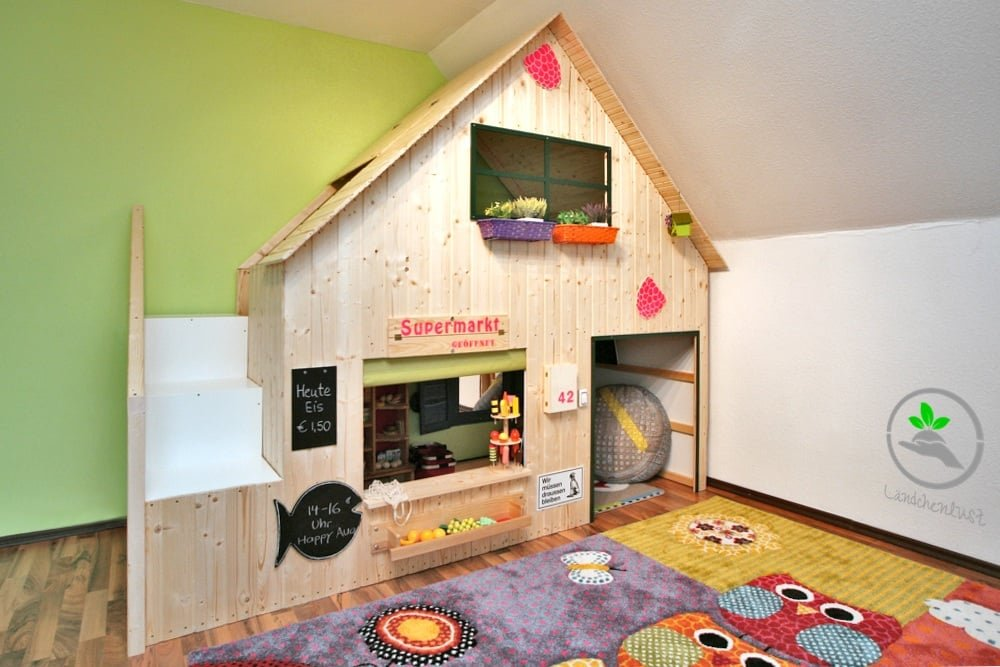 Ikea hack bett  DIY Playhouse For Our Children - IKEA Hackers