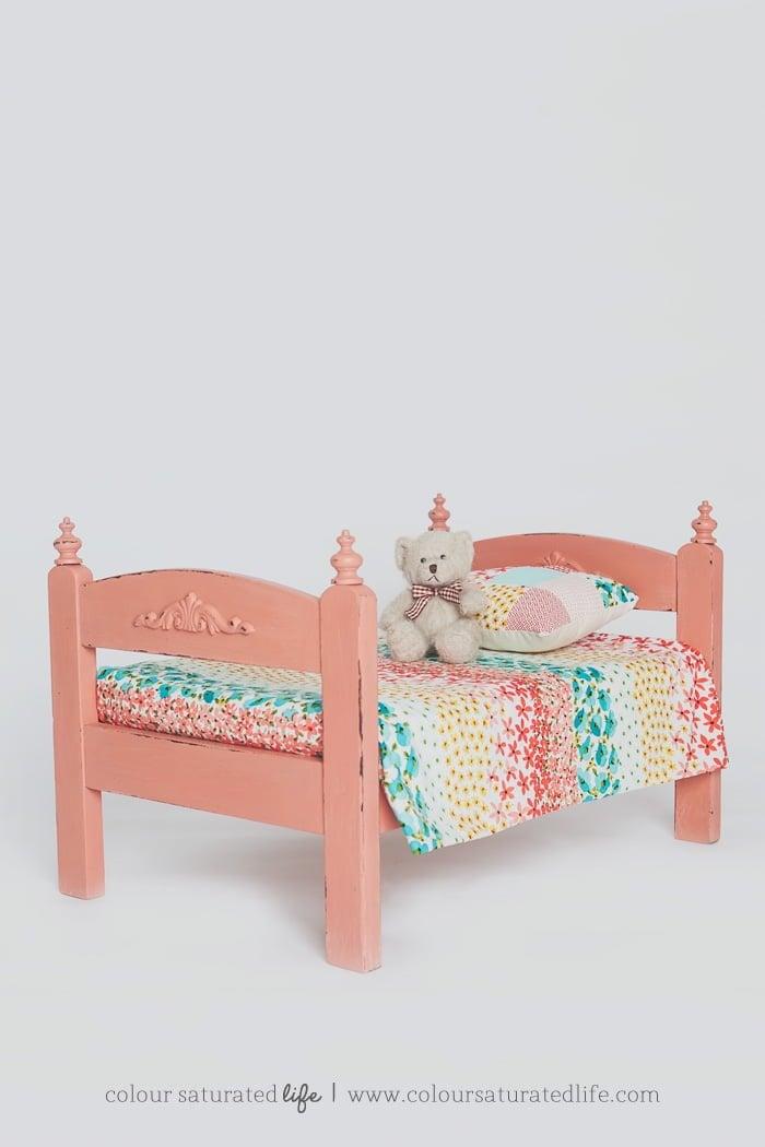 vintage duktig bed
