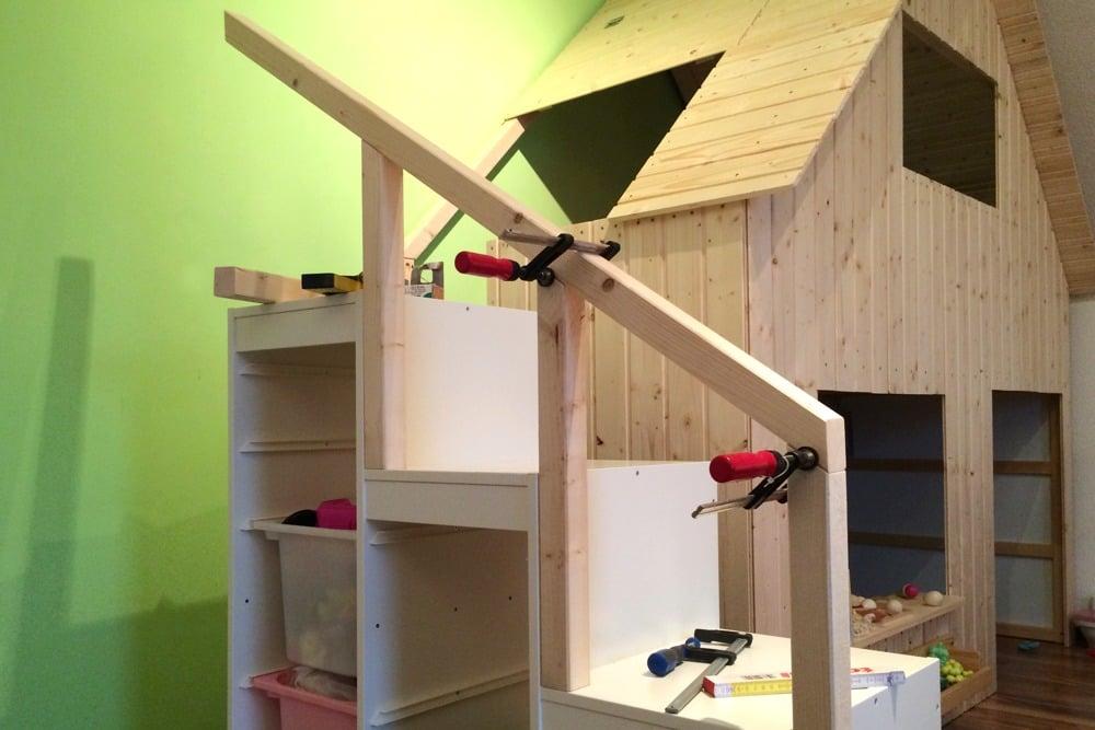 Diy playhouse for our children ikea hackers ikea hackers - Meuble sous escalier ikea ...