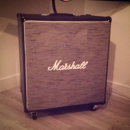 marshall cab (TV unit) 1
