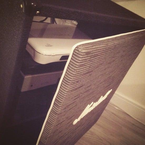 DIY Marshall 4x12 guitar speaker cabinet 2