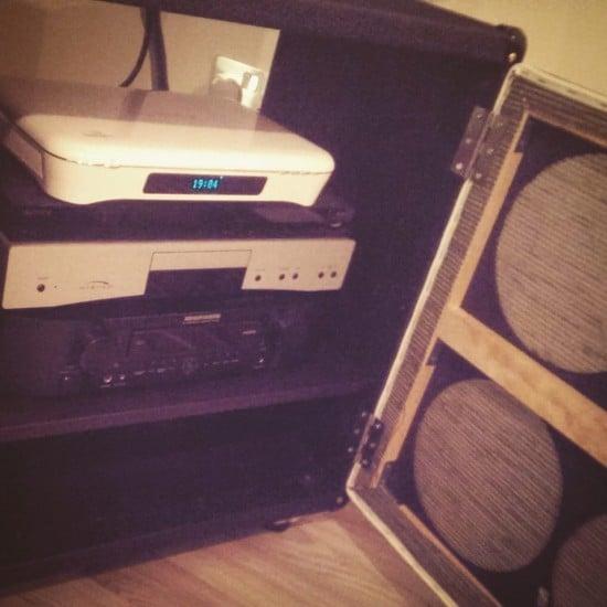DIY Marshall 4x12 guitar speaker cabinet 3