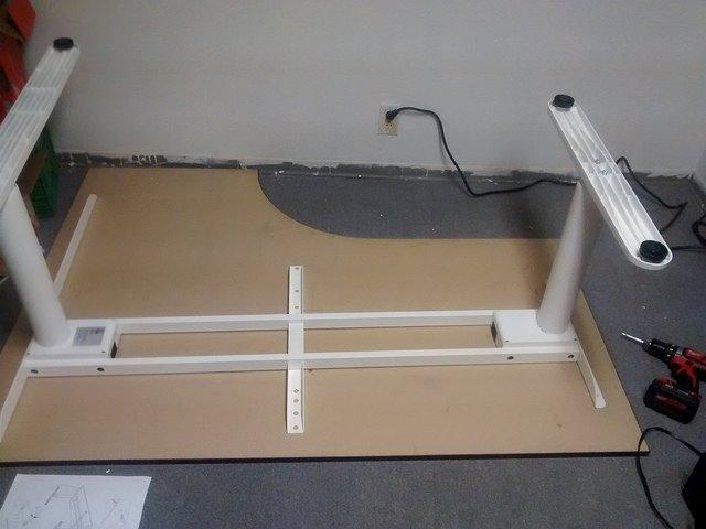 Bekant Galant Sit Stand Corner Desk Hack Ikea Hackers