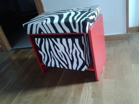 RAST nightstand small storage seat