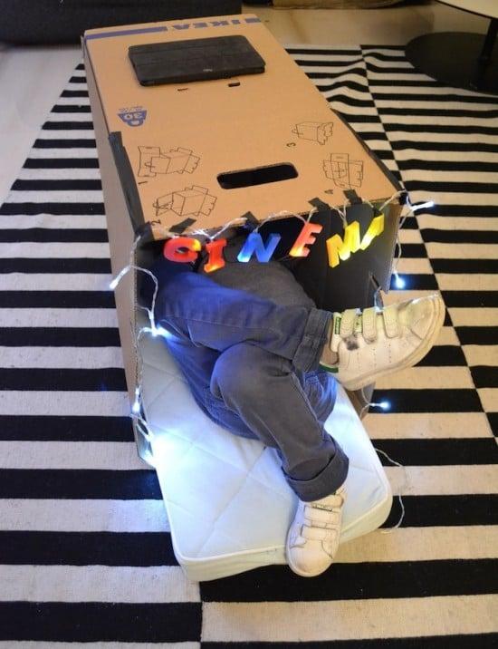 Ikea box cinema
