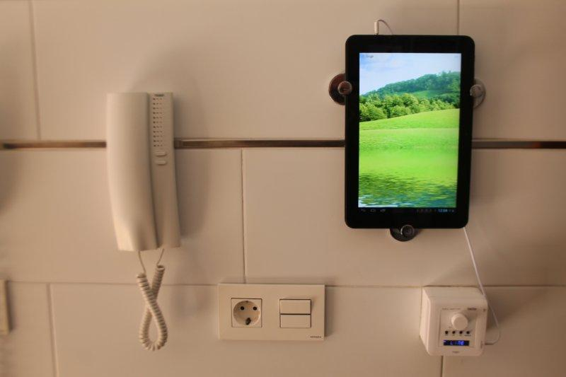 Ipad Holder From Skoghall Hooks