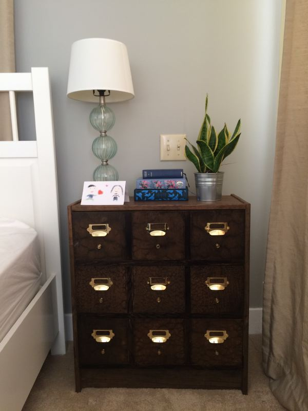 Diy card catalog apothecary from rast for 75 ikea hackers - Relooker une commode ...