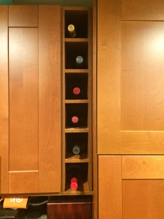 Ikea hack wine rack resized