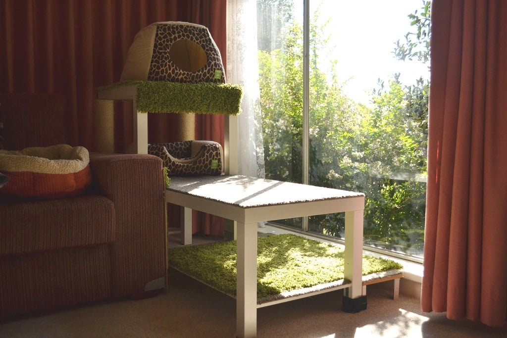 kitty window lounger ikea hackers. Black Bedroom Furniture Sets. Home Design Ideas