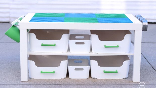 Modern Lego Table Hack Ikea Hackers Ikea Hackers