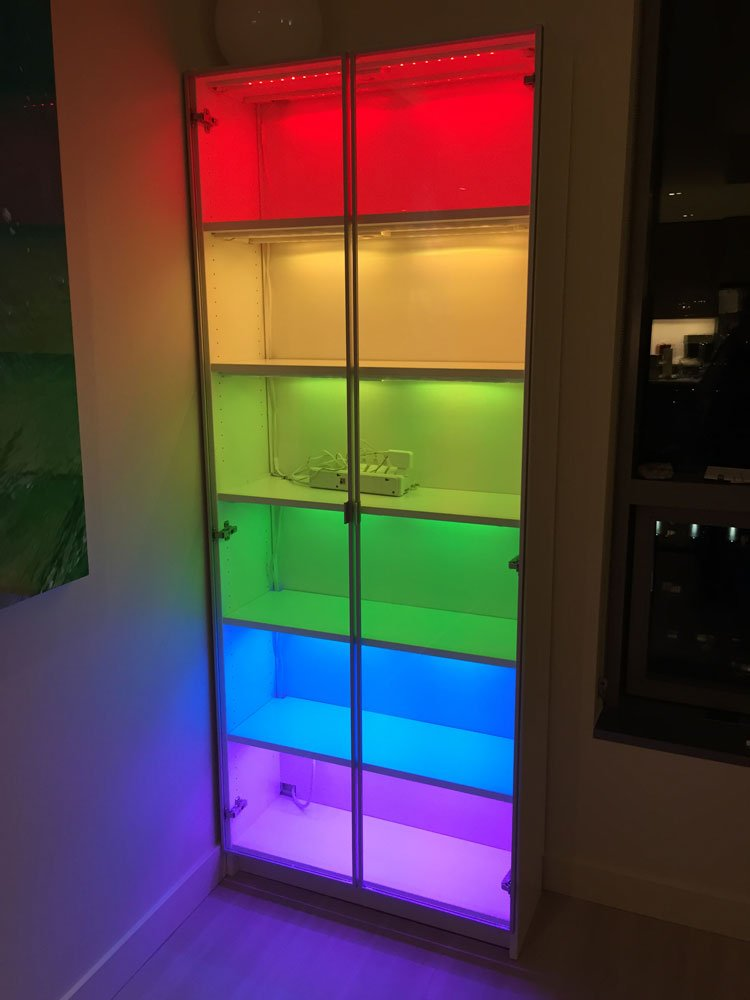 Adding Color To A Billy Bookcase Ikea Hackers