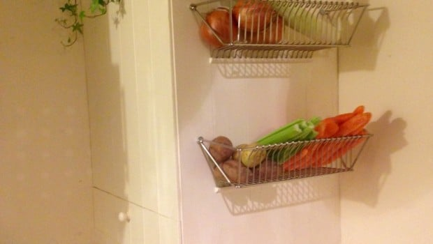 Fintorp Dish Drainer Becomes Wall Fruit Basket Ikea