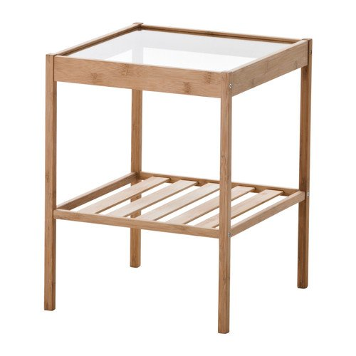 Turning nesna nightsands into a modular furniture ikea hackers - Table d appoint ikea ...
