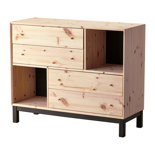 Nornas Chest Of Four Drawers Reconfigured Ikea Hackers Ikea