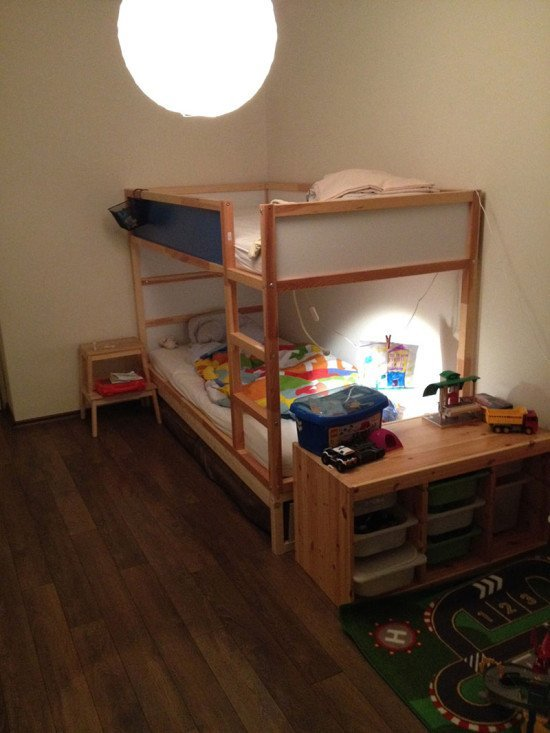 IKEA KURA double bunk bed hack