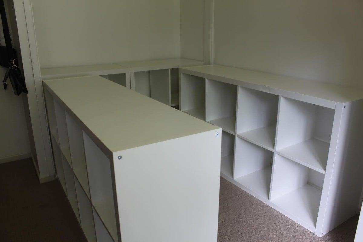Raised Bed Inside Built In Wardrobe Ikea Hackers