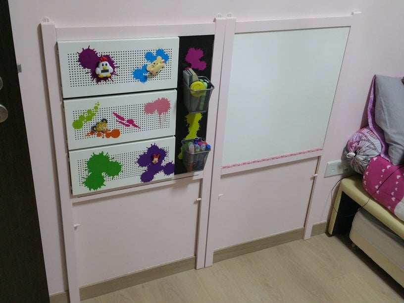 Easel To Magnetic Board Whiteboard Combo