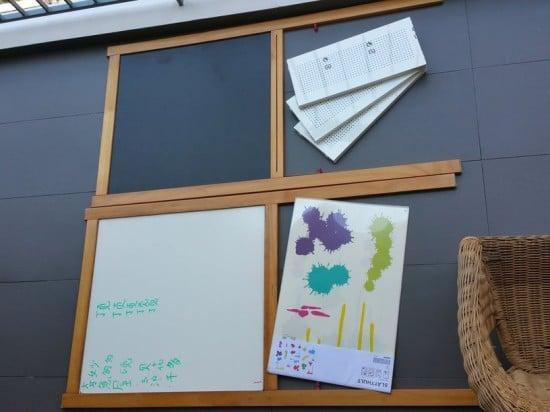 Easel To Magnetic Board Whiteboard Combo Ikea Hackers