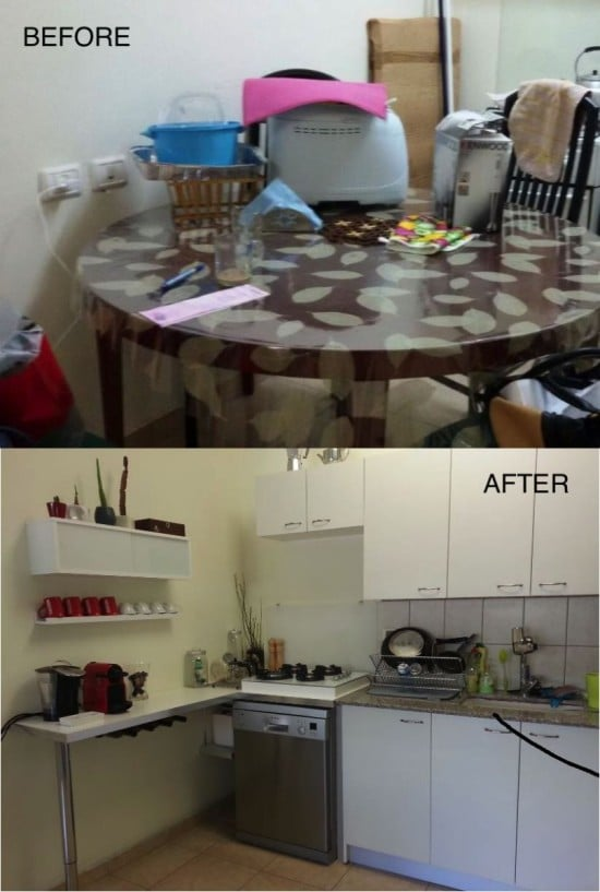 13-before after IKEA kitchen upgrade