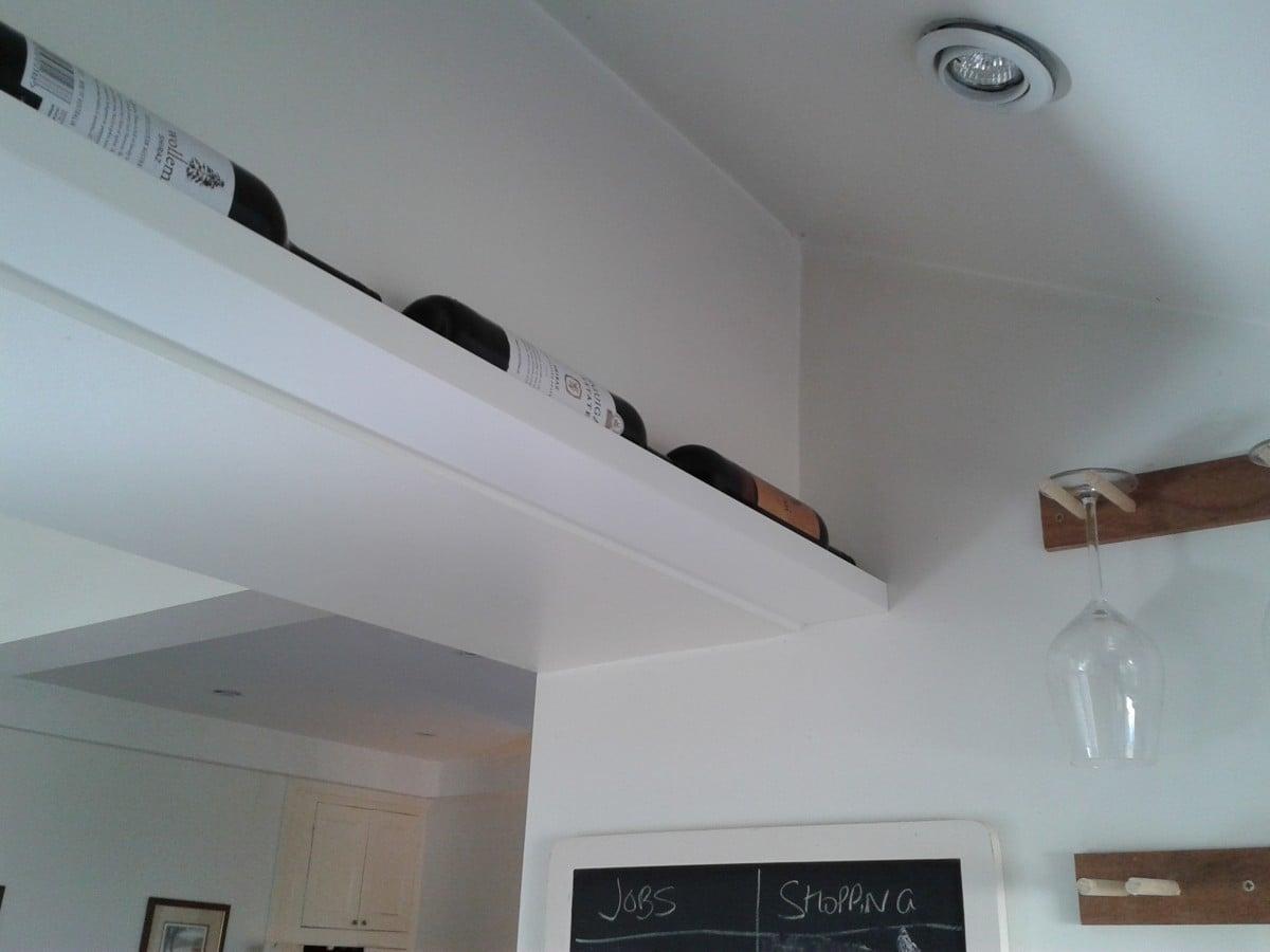 discreet wine rack