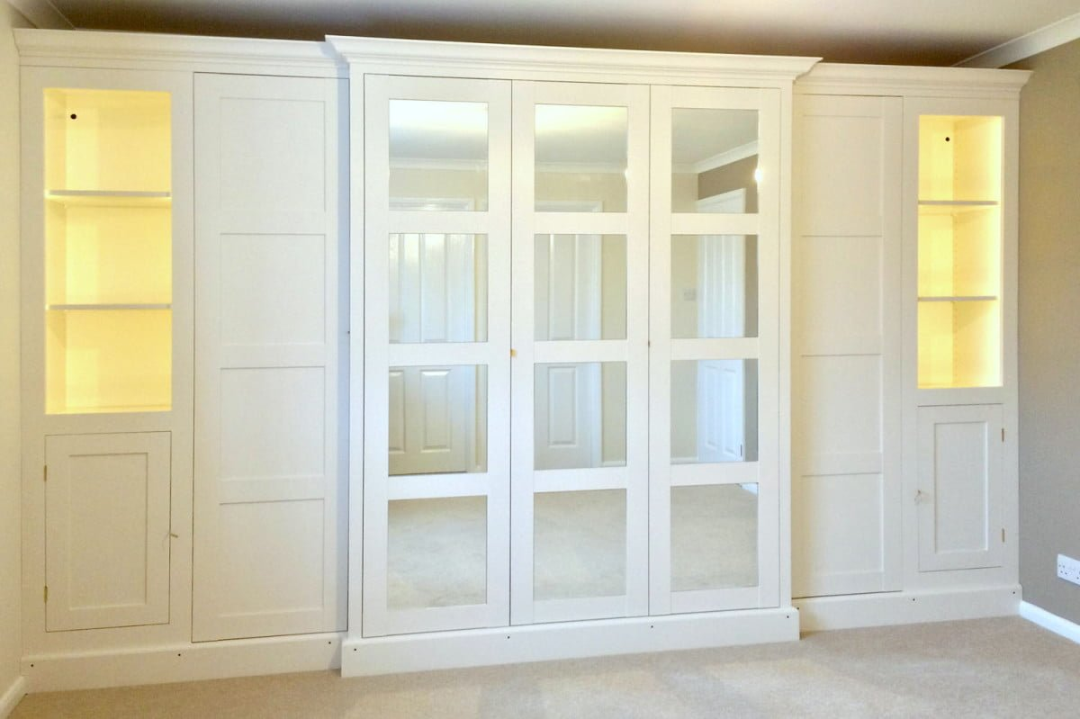 mirrored top design get slim closets your mirror beautiful closet should room you doors for wardrobe