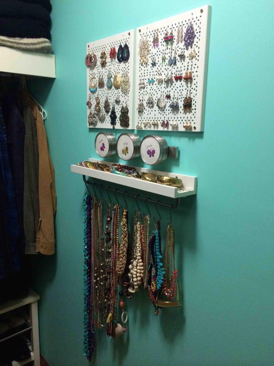 Variera Jewellery Organiser Ikea Hackers