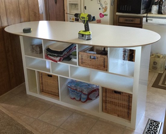Sl hult table top expedit shelf unit kitchen island - Table ilot central ikea ...