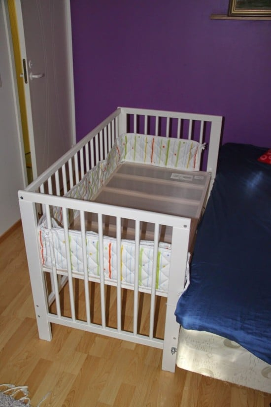 Hacked Ikea Gulliver Co Sleeper Crib