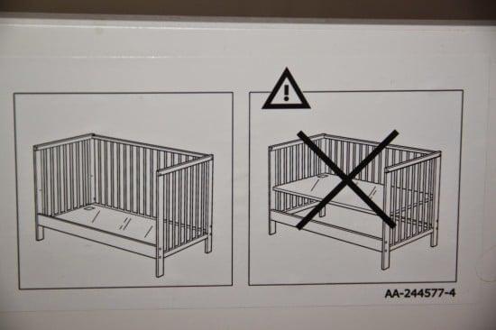 co sleeper ikea gulliver gulliver baby crib meets an engineer ikea
