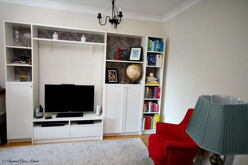 ikea hacks living room transforming a living space boring billy to a cosy 14216