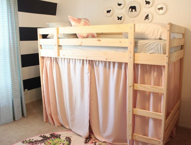 a mydal bunk bed upgrade ikea hackers ikea hackers. Black Bedroom Furniture Sets. Home Design Ideas