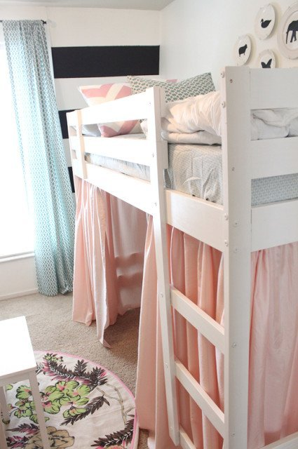 A mydal bunk bed upgrade ikea hackers ikea hackers for Ikea bunk bed kids