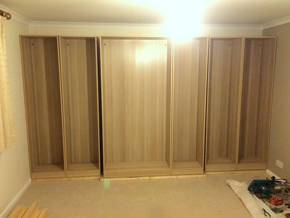Pax Traditional Fitted Wardrobe Hack Ikea Hackers