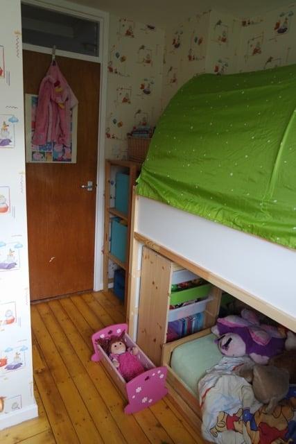 toddler-friendly bunkbed