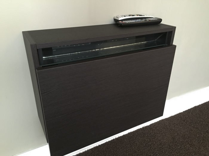 TV Box Box (Wall Hugging TV Equipment Cabinet)