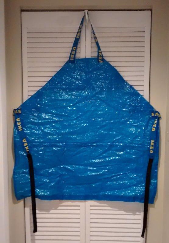 Ikea frakta bag apron ikea hackers for Ikea luggage cart