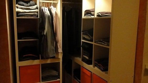 Kallax Wardrobe In A Corner Ikea Hackers Ikea Hackers