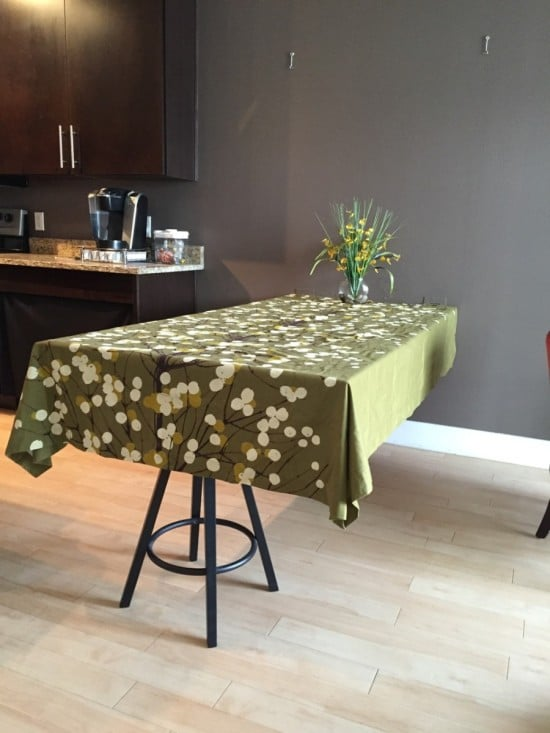hideaway dining table