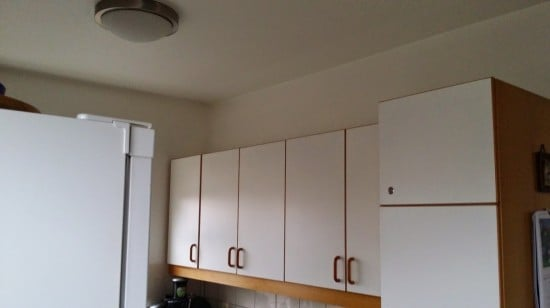 Kitchen cabinet extension