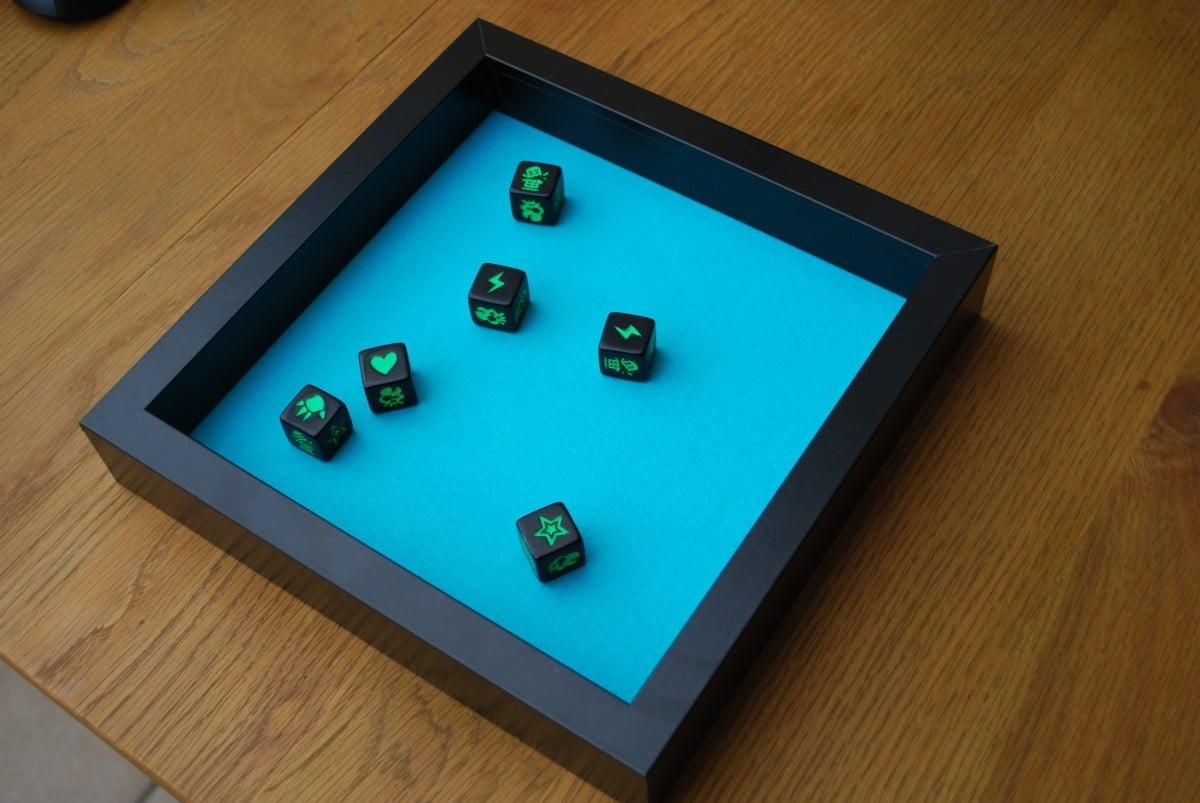 Board Gaming Dice Tray Using Ribba Frame Ikea Hackers
