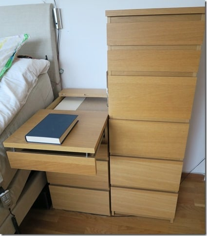 Malm extendable bedside table ikea hackers ikea hackers - Fabriquer table chevet ...