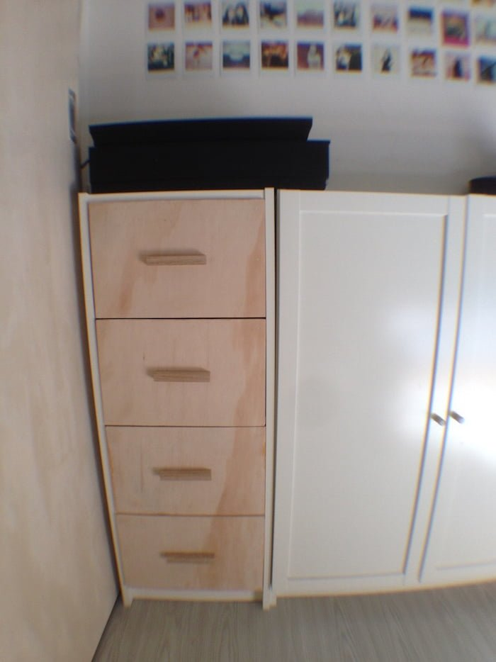 Billy chest of drawers ikea hackers ikea hackers for Ikea bookcase with drawers
