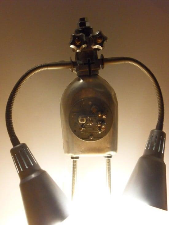 IKEA KVART robot lamps