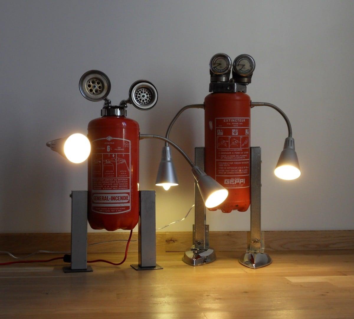 Ikea kvart robot lamps ikea hackers ikea hackers - Deco recyclage recuperation ...